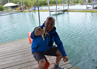 Brian Taupo Prawn Park January 2014
