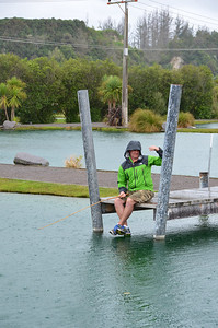 Alan Taupo Prawn Park January 2014