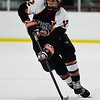 (Wednesday February 27th 2014 - St. Mary's Prep Orchard Lake, MI - Athletic Complex) Senior Blake Bazzi of Brother Rice takes the puck down the ice into the Saint Mary's zone during the game Wednesday night. The Warriors were defeated by the Eaglets. Photo by: Brian B. Sevald