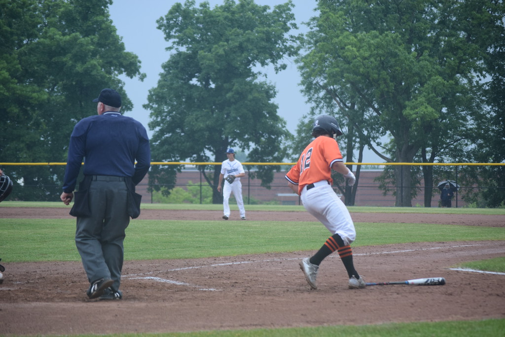 . Brother Rice won the MHSAA regional title at Lake Orion on Saturday. Other  teams competing included Waterford Mott, Troy and Utica Eisenhower. (Photo by Paula Pasche)