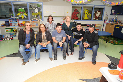 BIG KENNY FROM BIG & RICH, SONGWRITER RICHIE SUPA, SONGWRITER BRETT JAMES, SUPERMODEL NIKI TAYLOR, NASCAR CAMPING WORLD SERIES DRIVER BURNEY LAMAR AND NASCAR DRIVER KYLE PETTY.