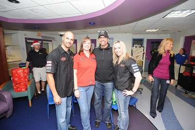 Kyle Petty with Broward Motorsports Staff