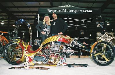 Broward Motorsports Celebrity Corner