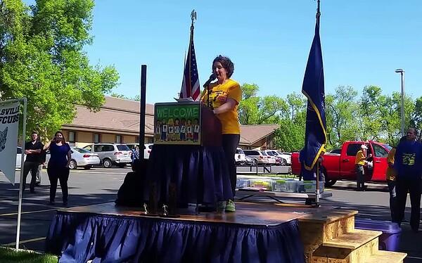 Elly Torch Bearer Wellsville Mile 2018