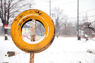 Tyree Guyton Founder of the Heidelberg Project. Detroit, creates art in run down neighborhoods. Community Artist's Supporting the City through Art, Technology and Neighborhood Activism.