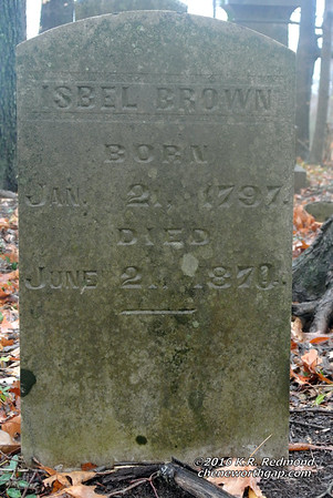 Isbel Brown (1797 - 1870)