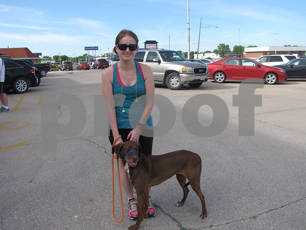 Nicole Thurman & her dog Tempie