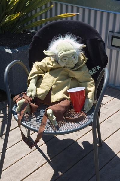 Yoda getting an early start :D