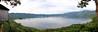 Volcano Lake in El Salvador