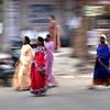 Indian women in Bangalore, India