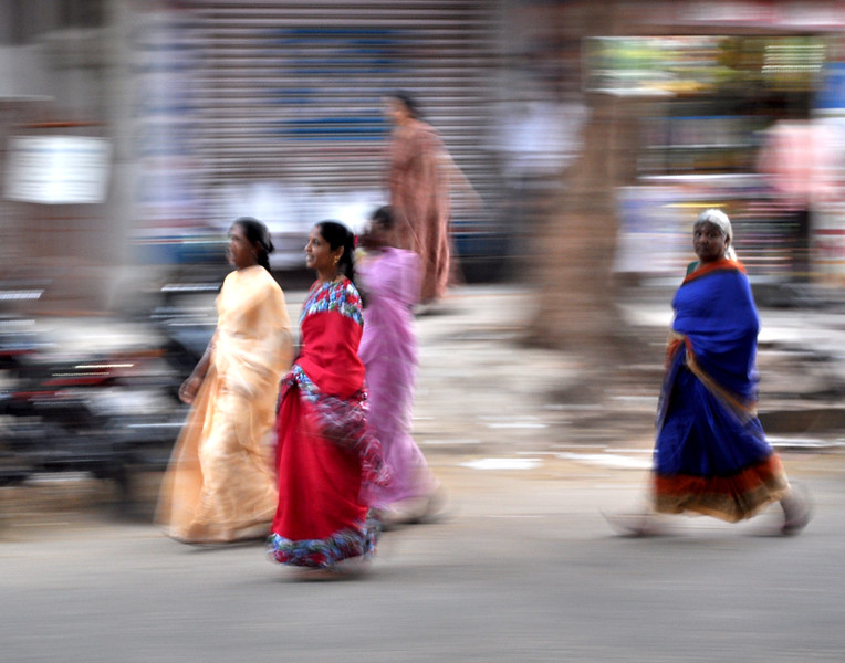 Indian women in Bangalore, India