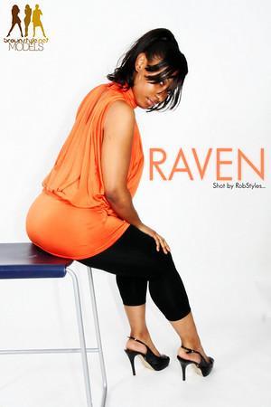 Raven :: Orange and Black :: at THE LAB