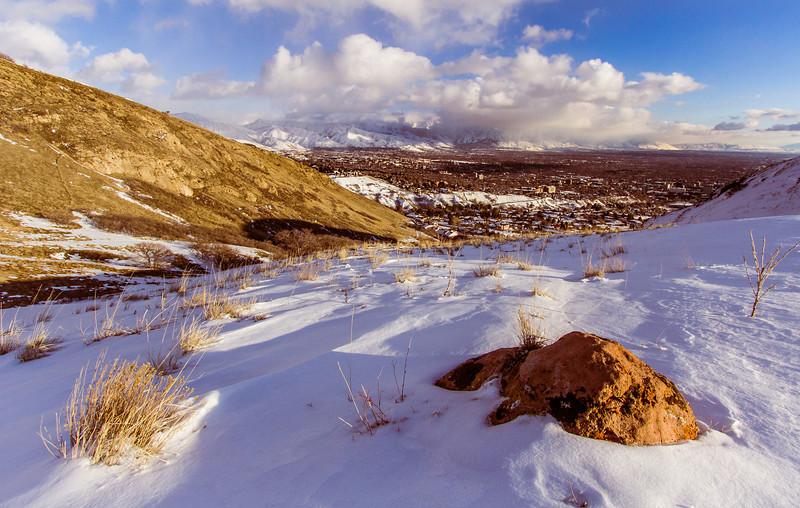 ~~ Salt Lake Valley View ~~