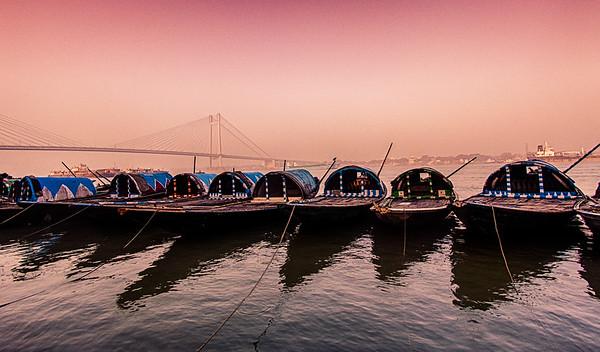 #8 Boats at Ganga Ghat, Kolkata