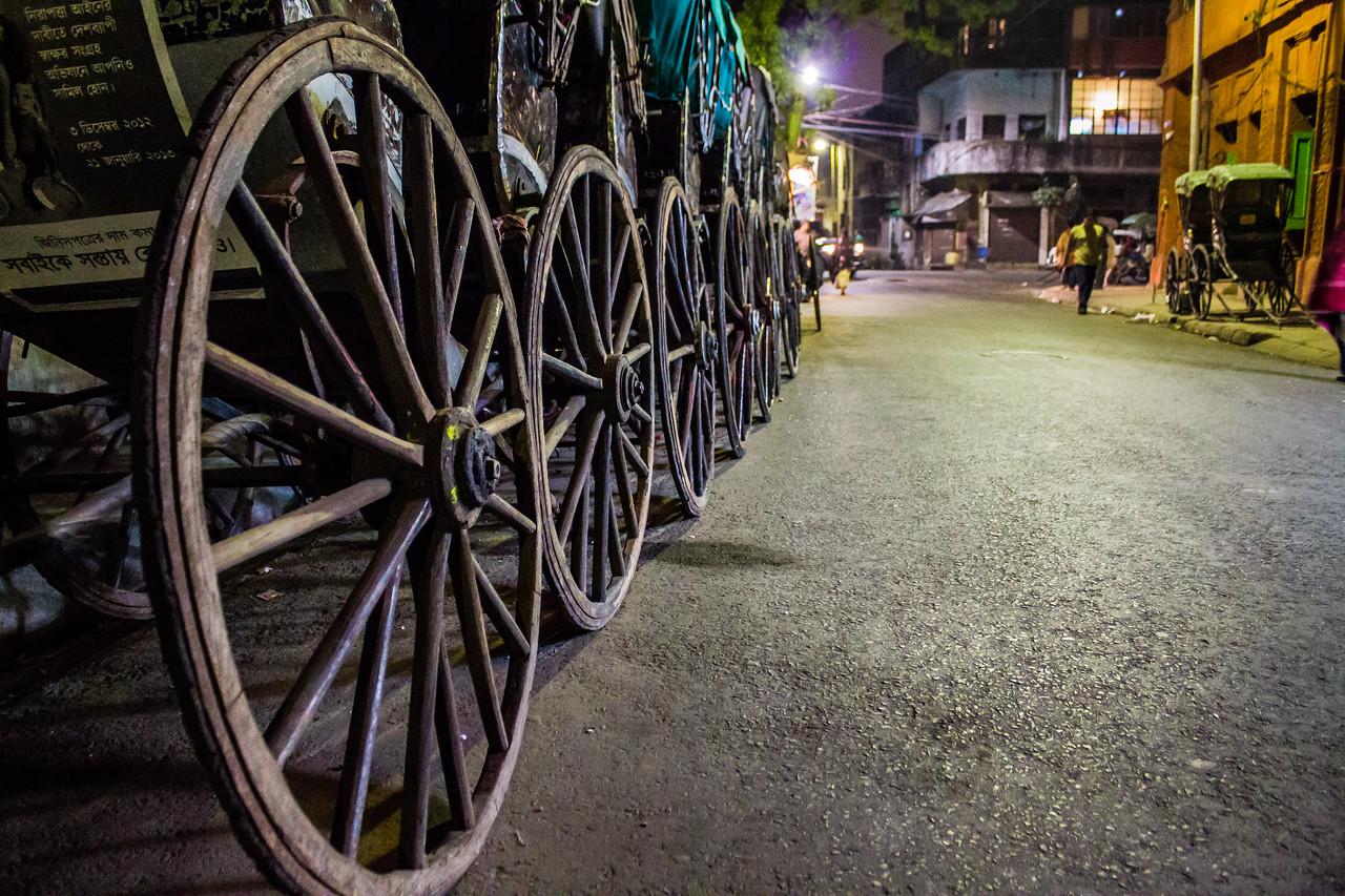 #24 Rickshaws at Kolkata