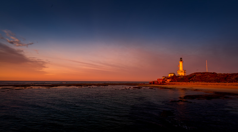 Point Lonsdale lighthouse sunrise.