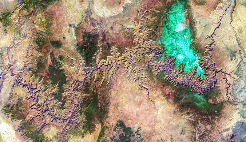 The Grand Canyon Watercolor