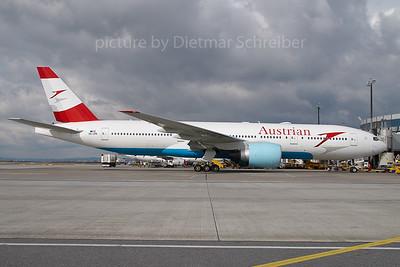 2007-02-27 OE-LPB Boeing 777-200 Austrian Airlines