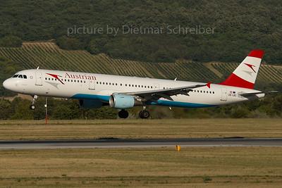 2007-07-31 OE-LBC Airbus A321 Austrian Airlines