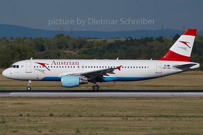 2007-07-31 OE-LBU Airbus A320 Austrian Airlines