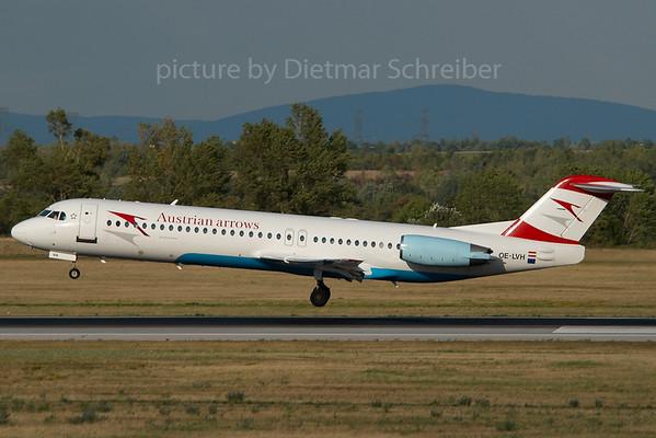 2007-07-31 OE-LVH Fokker 100 Austrian Arrows