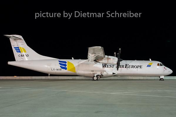 2007-08-31 LX-WAB ATR72 West Air Europe