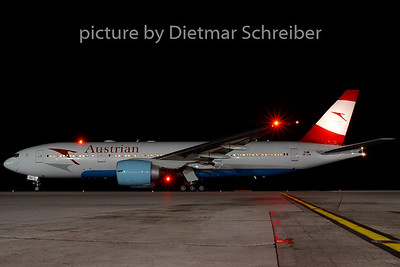 2007-08-31 OE-LPB Boeing 777-200 Austrian Airlines