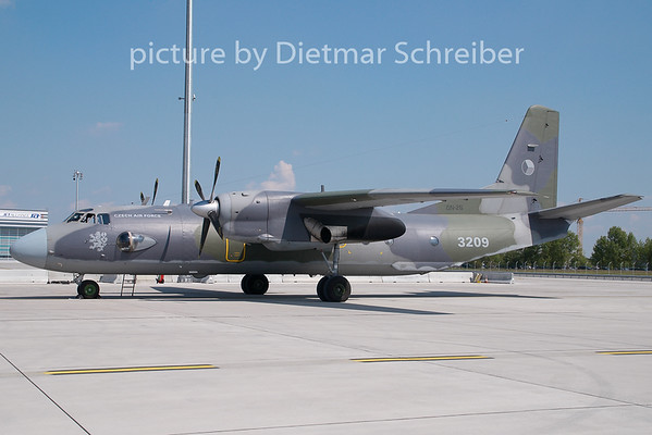2007-08-27 3209 ANtonov 26 Czech Air Force