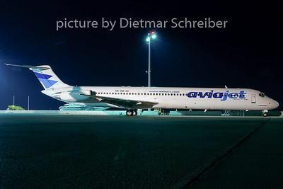2007-08-31 OE-IKB MD80 Aviajet