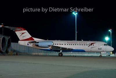 2007-08-31 OE-LFQ Fokker 70 Austrian Arrows
