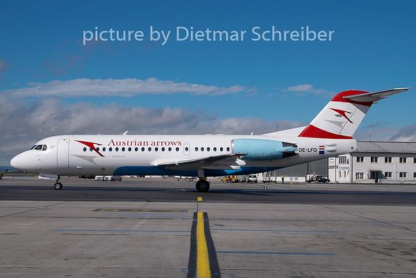 2007-09-28 OE-LFQ Fokker 70 Austrian Arrows