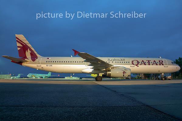 2007-10-26 OE-LOS Airbus A321 Qatar Airways