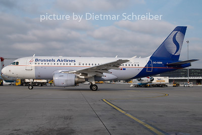2007-10-22 OO-SSM Airbus A319 Brussels Airlines