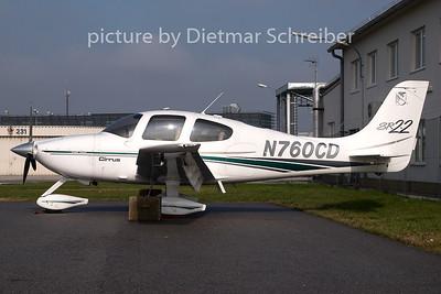 2007-10-29 N760CD Cirrus SR22
