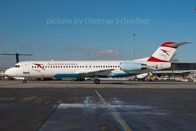2007-11-28 OE-LVM Fokker 100 Austrian Arrows