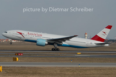 2008-02-28 OE-LPC Boeing 777-200 Austrian Airlines
