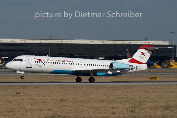 2008-02-28 OE-LVM Fokker 100 Austrian Arrows