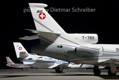 2008-06-29 T-783 Falcon 50 Swiss AIr Force