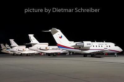 2008-06-29 5105 CL600 Czech Air Force