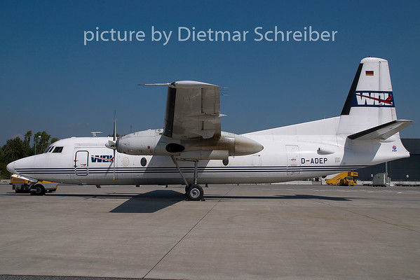 2008-08-27 D-ADEP Fokker 27 WDL Aviation