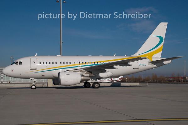 2009-01-25 9H-AFL Airbus A318