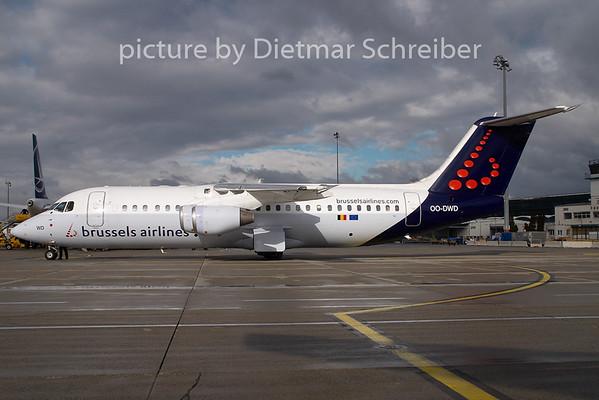 2009-02-27 OO-DWD Bae146 Brussels Airlines
