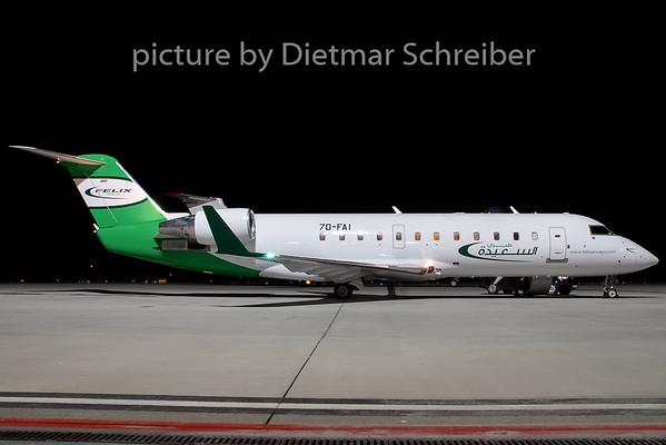 2009-02-25 7O-FAI Regionaljet 200 Felix AIrways