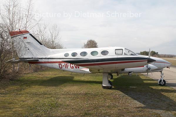 2009-03-27 D-IFGW Cessna 414