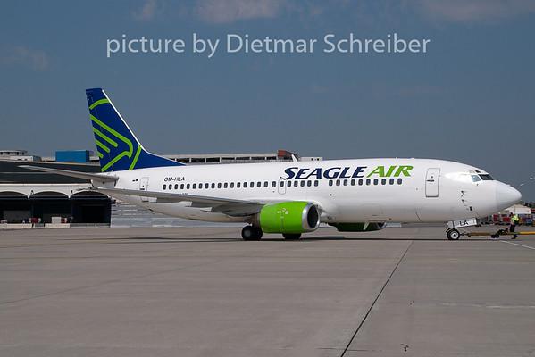 2009-04-30 OM-HLA Boeing 737-300 Seagle Air