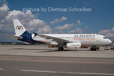 2009-06-20 SU-TCA Airbus A320 Almaseria