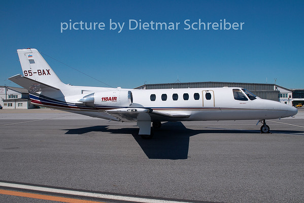2009-07-27 S5-BAX Cessna 550