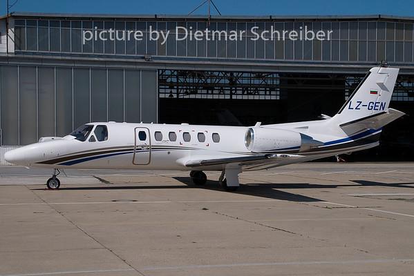 2009-07-27 LZ-GEN Cessna 550