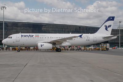2009-07-28 EP-IEB Airbus A320 Iran Air