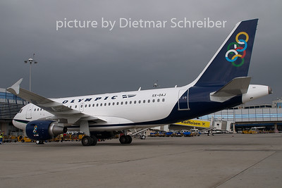 2009-09-30 SX-OAJ Airbus A319 Olympic